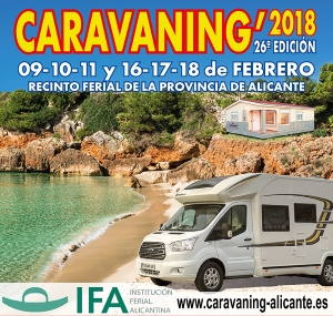 cartell caravaning alacant 2018
